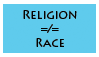 Religion is Not a Race by SilverBeastLaguz