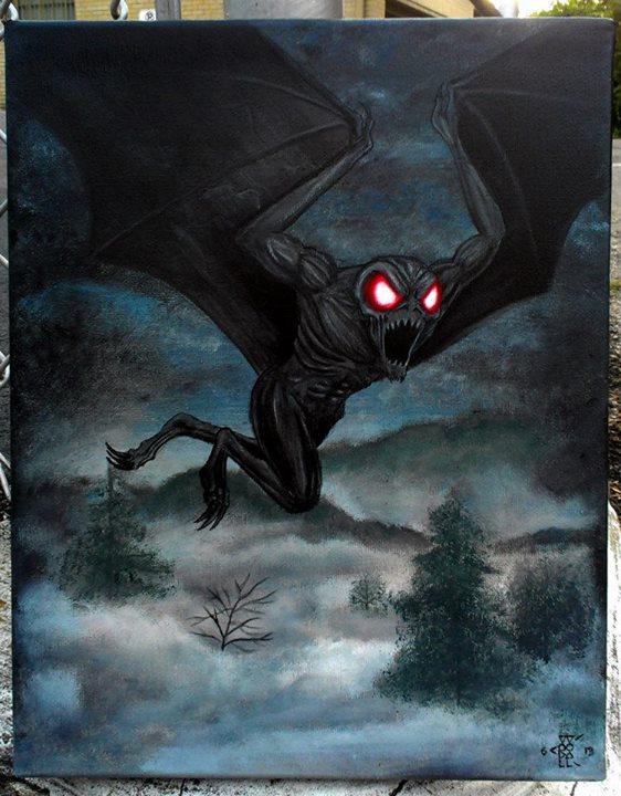 The Mothman by lxixska