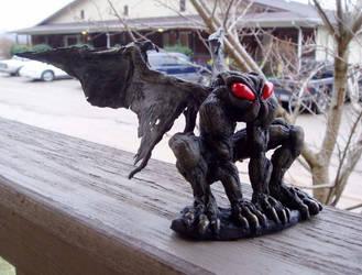 Mothman sculpture by lxixska