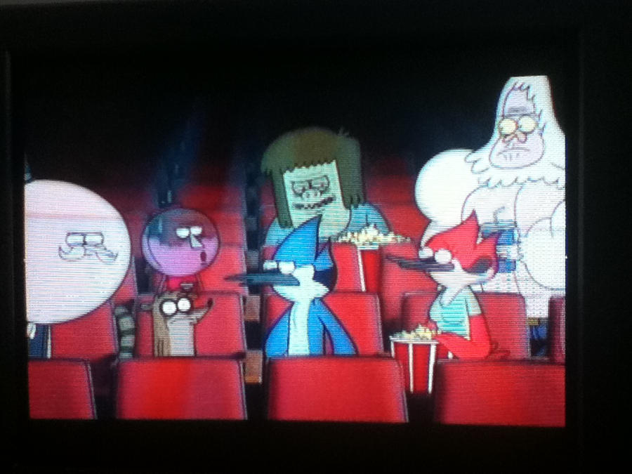 .:Epic regular show in a movie:. by espeonhappylove