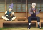 COMMISSION | Byakuya and Amaya Uchiha