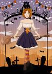 Halloween girl
