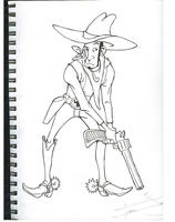 cowboy by Garcia777Ivan
