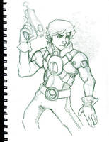 Spaceman Redux by Garcia777Ivan