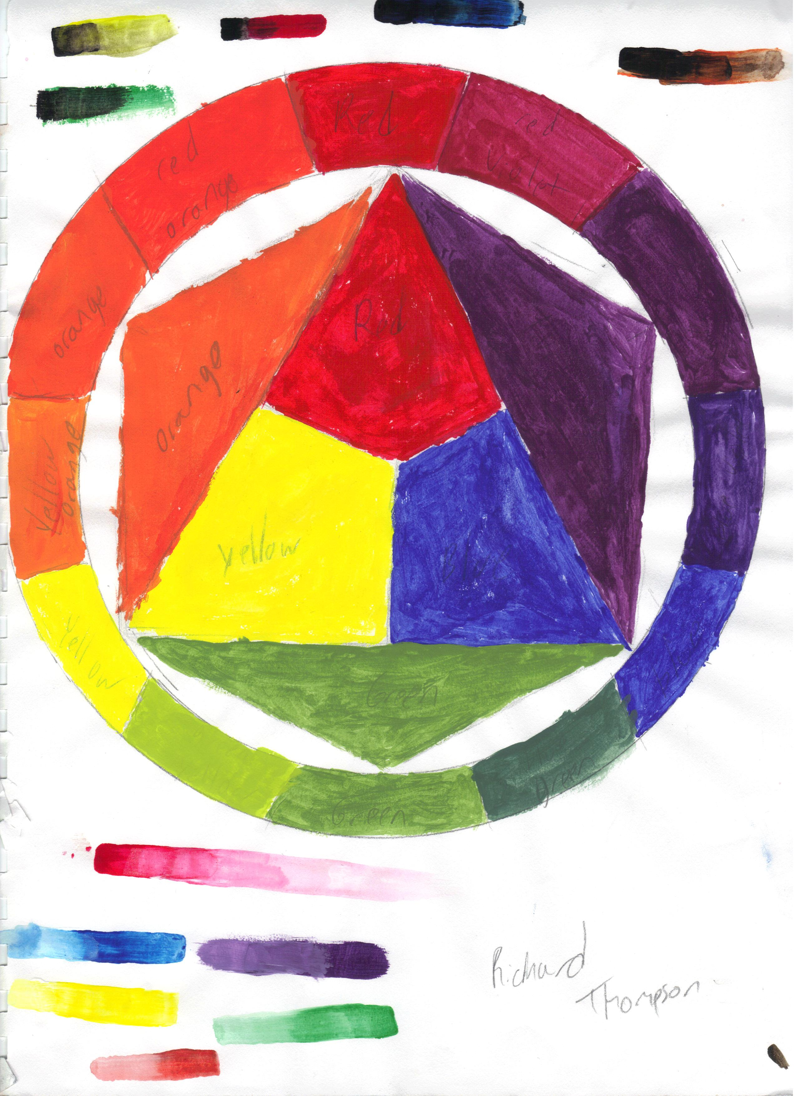 Color Theory Practice #2 by DrahcirII on DeviantArt