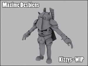 Kizzys the Guardian - WIP