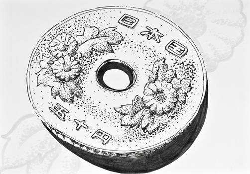 50 Yen Marker