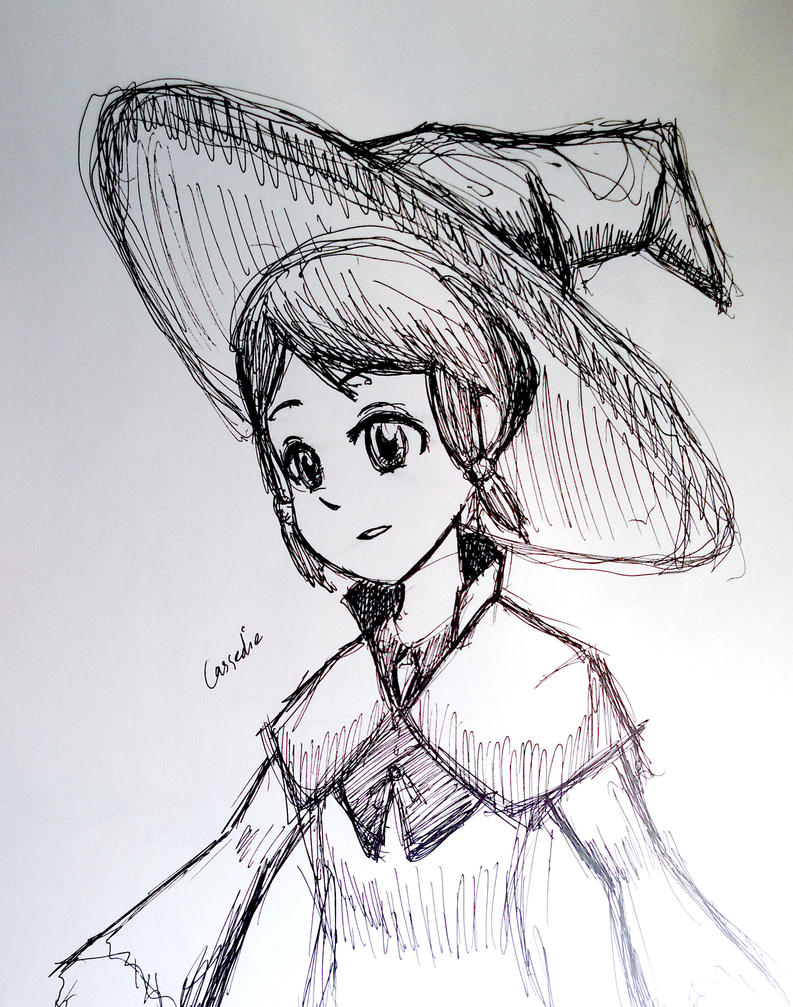 Cassedie - Sketch by geek96boolean10