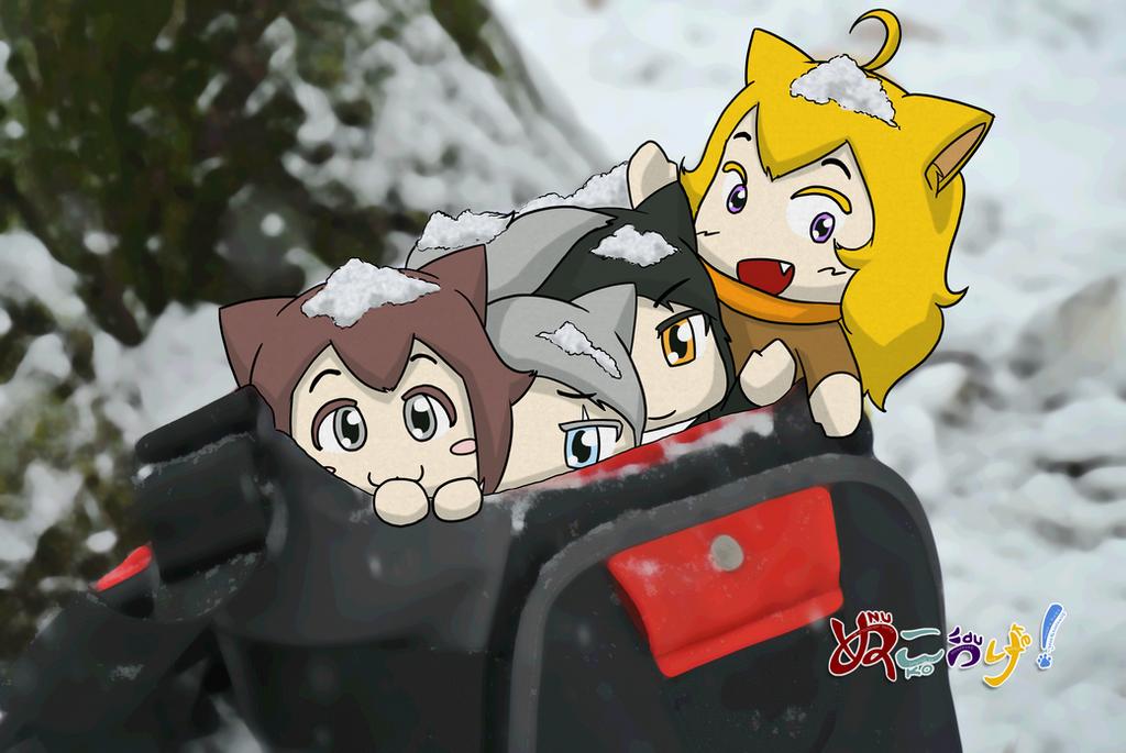 NUKOxRWBY - Snowy RWBY 2 by geek96boolean10