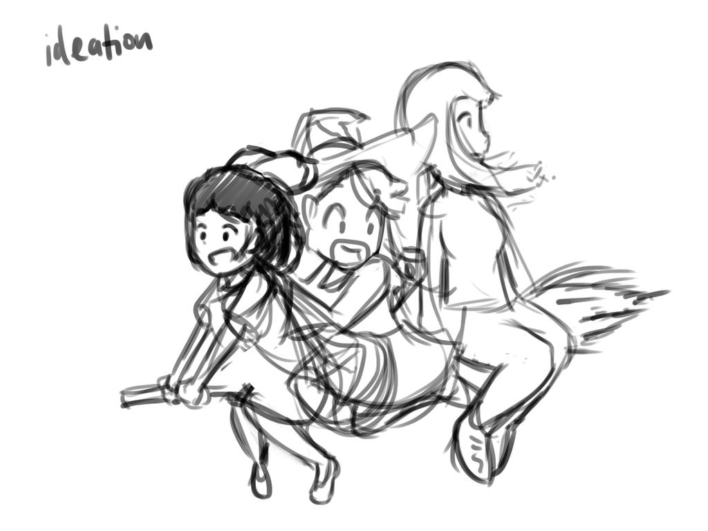 Witches 1 Ideation by geek96boolean10