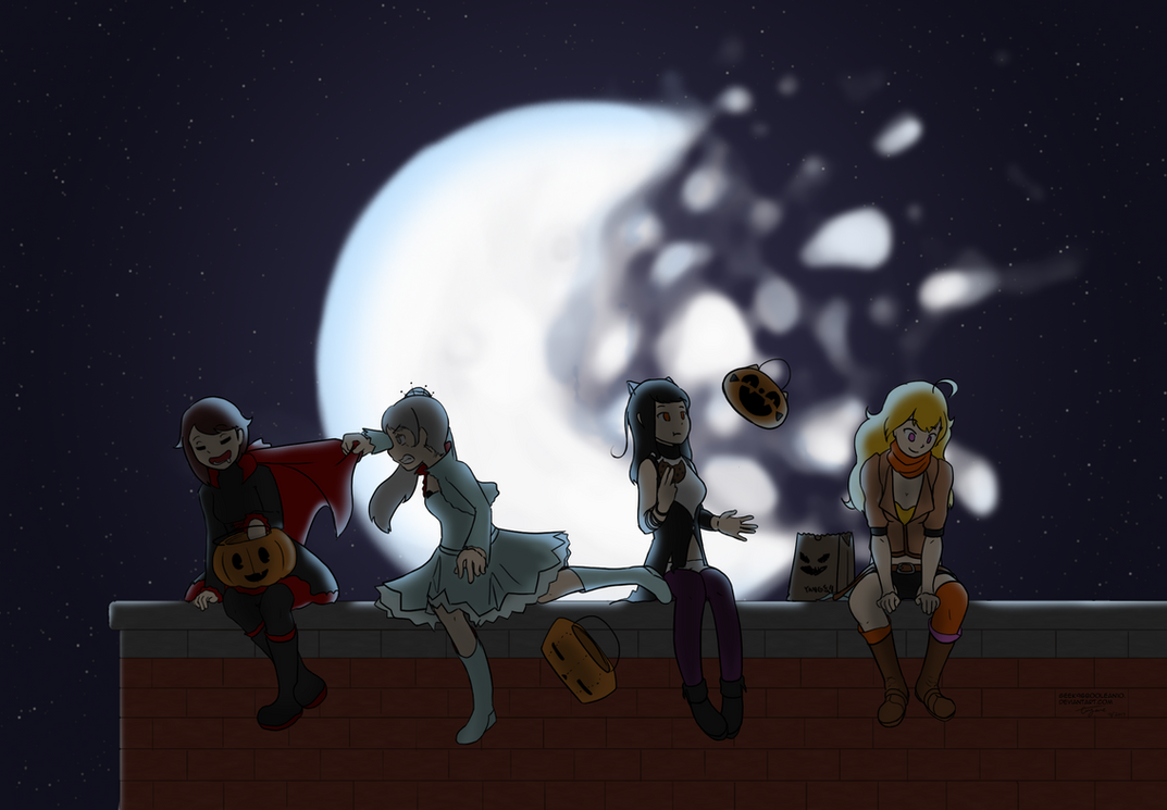 RWBY - Halloween 2017 by geek96boolean10