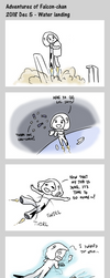 Adventures of Falcon-chan - 2018-12-05 by geek96boolean10