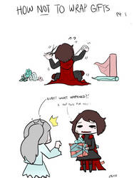 RWBY - How Not to Wrap Gifts - Pt 1 by geek96boolean10