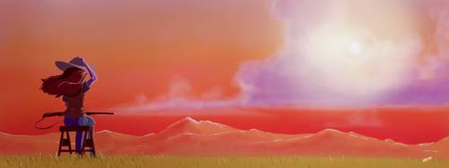 First Sunset by geek96boolean10