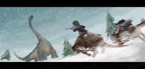 Rimworld - 'A Big Hunt' by geek96boolean10