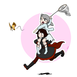 RWBY - Pink n Butterfly