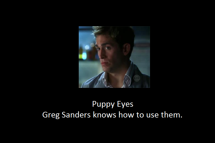 Puppy Eyes of Greg Sanders by regates