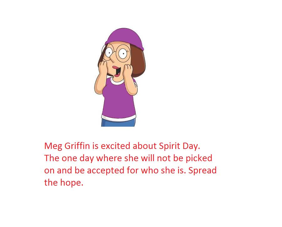 Meg-spirit Day by regates