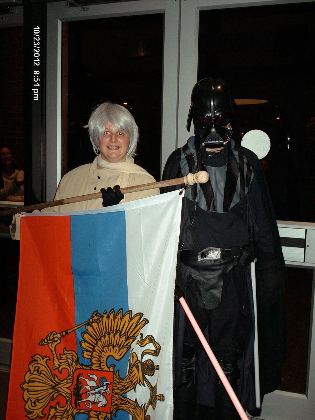 Russia and Vader by regates