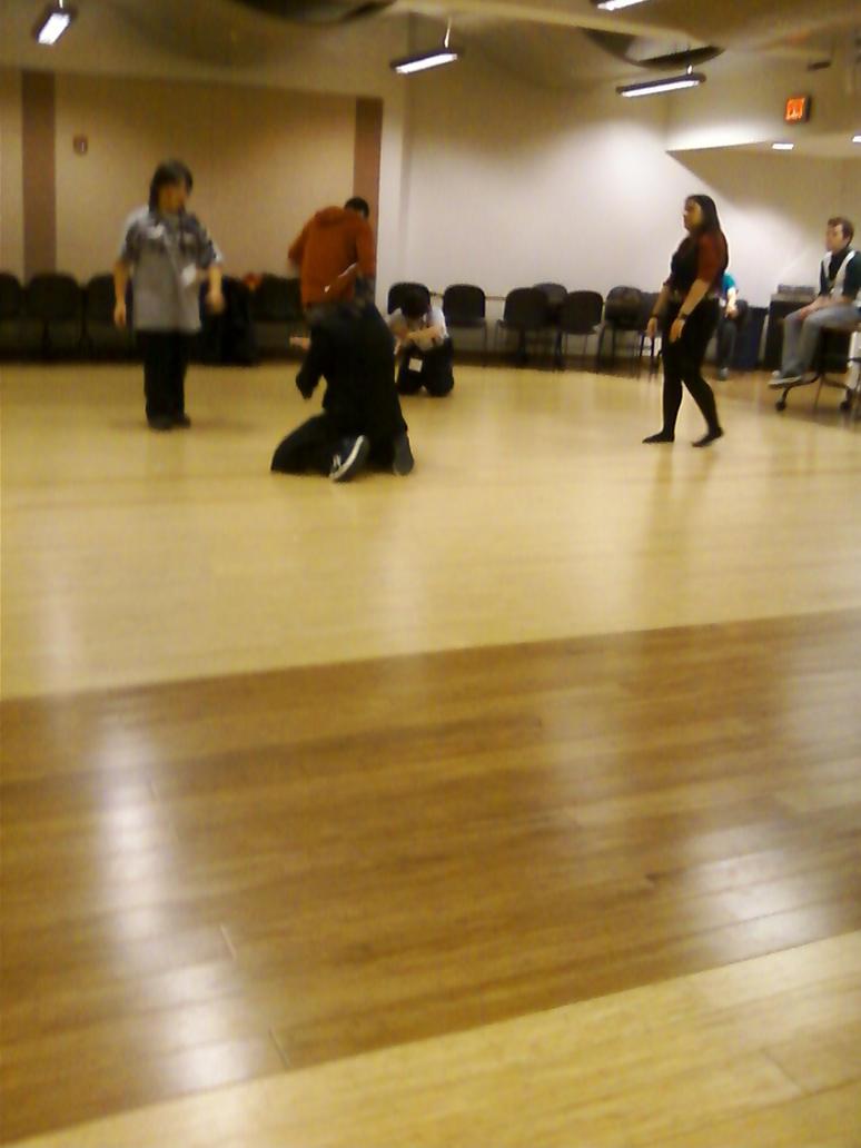Practice-kick Face 2 by regates