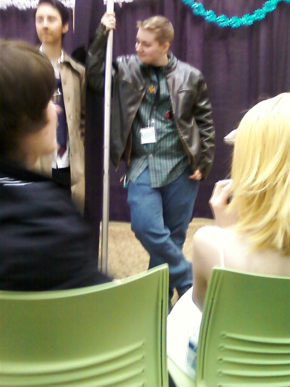 semi blurry Dean and Cas by regates