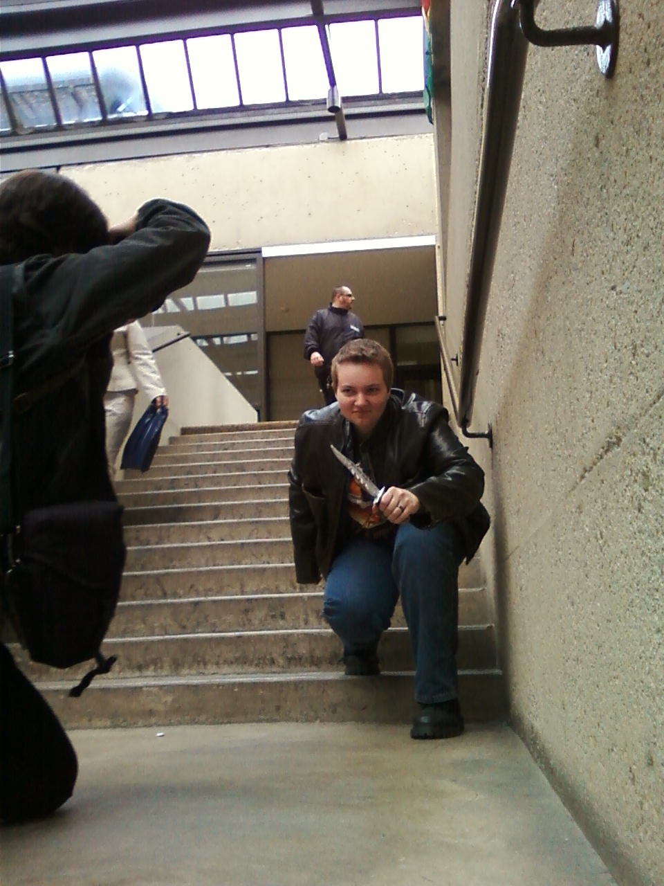 Dean on the stairs 3 by regates