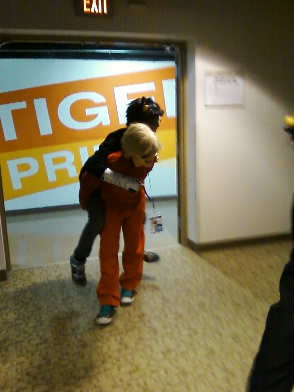 Even More Piggy Back Rides by regates