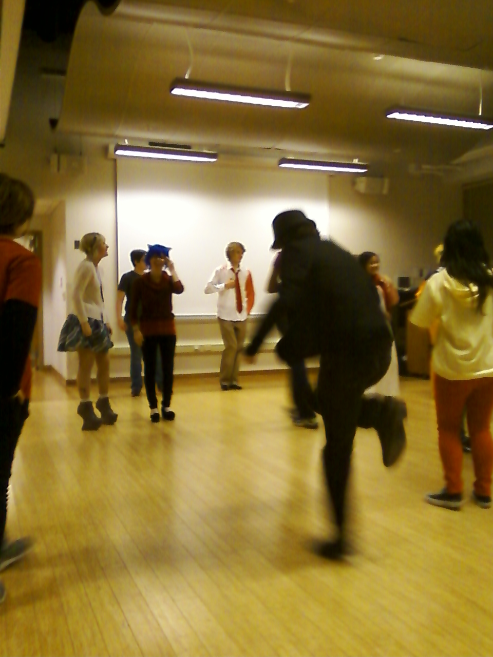 Karkat dancing by regates