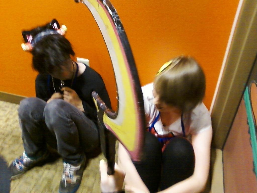 Roxy and Karkitty by regates