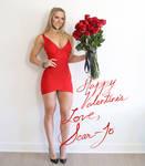 Happy Valentine's Love Scarlett Johansson