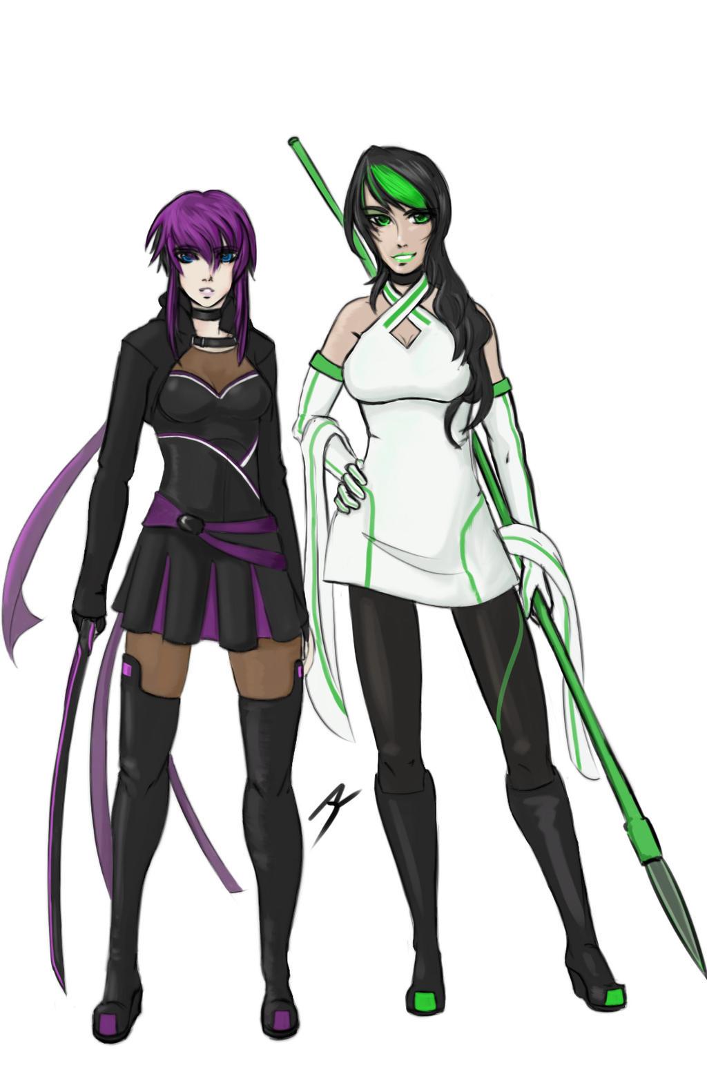 Original Characters - Renata and Lucrezia