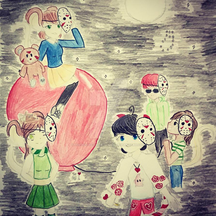 pchuu Friday the 13th by poptropicangirlannie