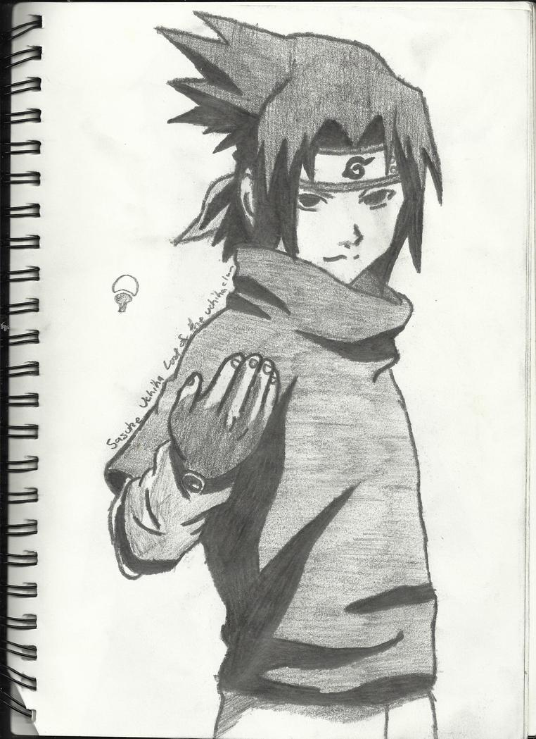Kumpulan Gambar Sketsa Anime Sasuke Sketsa Gambar