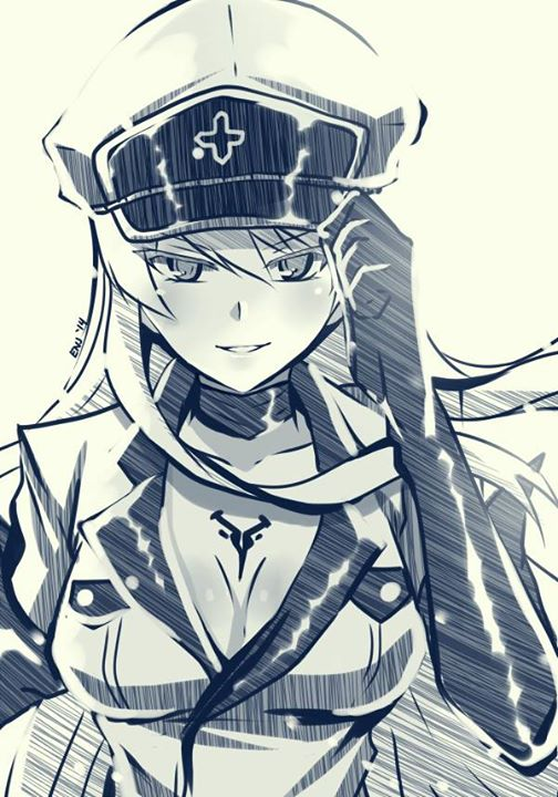 2016 (The vote) Esdeath_sketch_by_albion560-d82i3n5