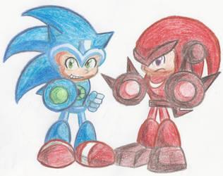 Sonic Man Knux Man