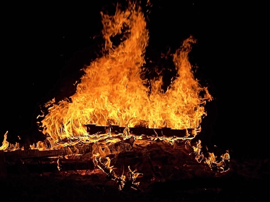 Bonfire Dragon
