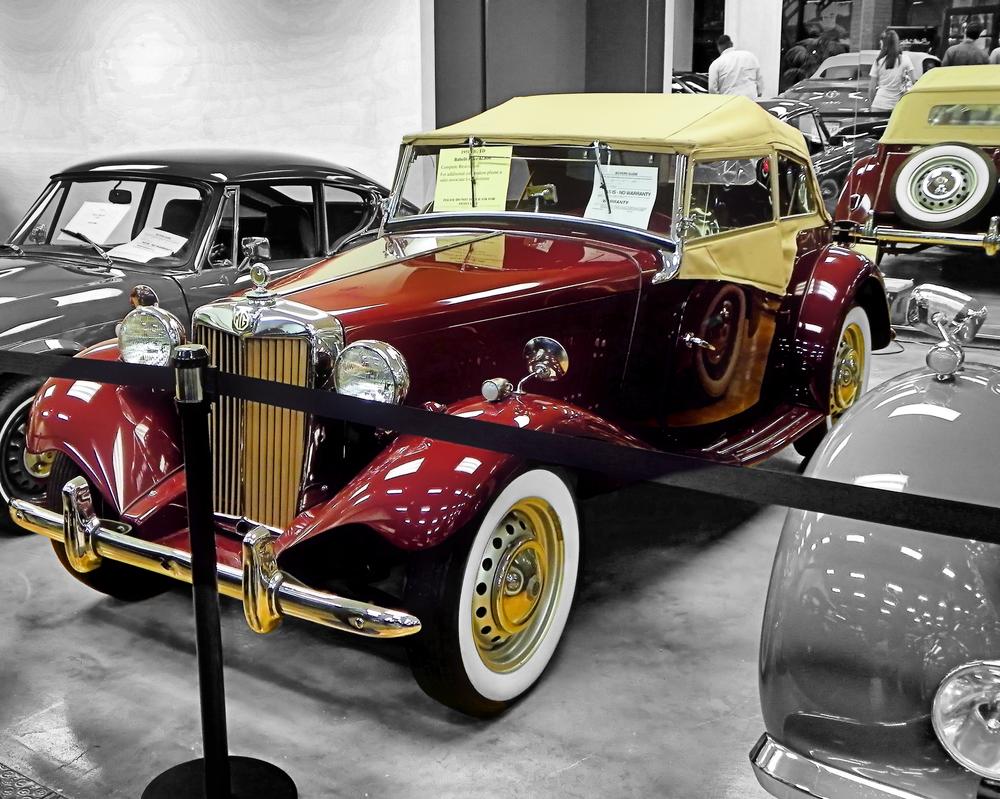 1951 MG by Artie3D