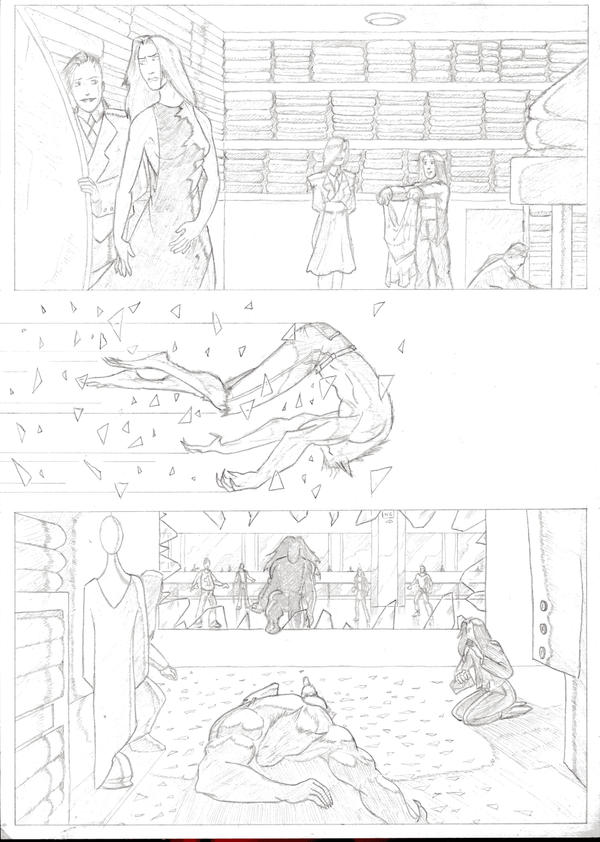 Werewolf vs Vampire - page 5 by JohnnyBoyB