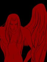 ominous look by AssamiteGirl