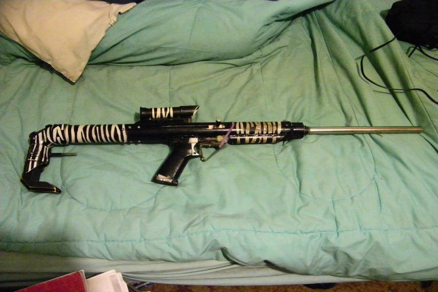 Zebra Carbine by biohazardben