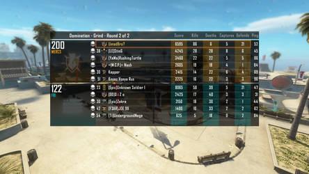 Black Ops 2 scoreboard by Kevelito