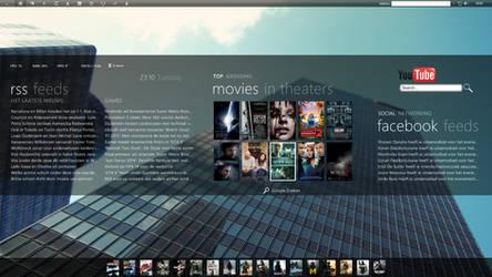 New Desktop Screenshot by Kevelito