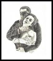 Phantom and Christine by Ydnib