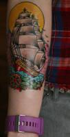 first tattoo by pandouken
