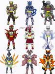 Legend Shinobi-Bijuu riders!!!