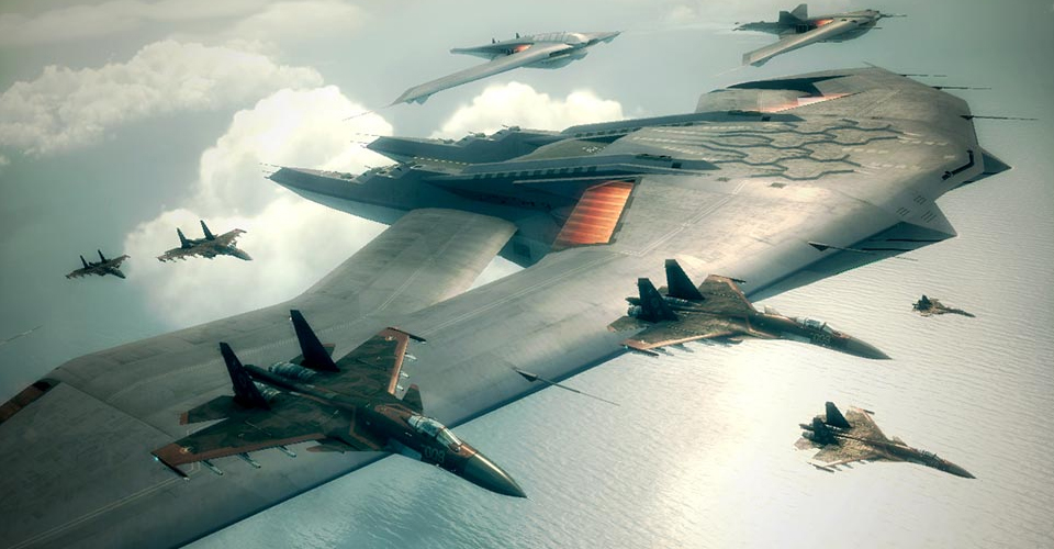 Ace Combat 6 Enemy Squad. by Spyro-Fan78