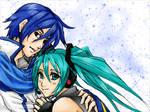 Vocaloid: MikuxKaito +COLOR+