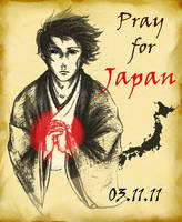Pray For Japan by javanazV