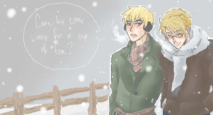 Tea in the Winter by javanazV