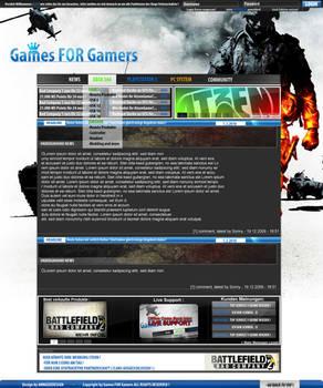 Games Shops Design for SELL